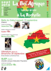 La Bel'Afrique - Quinzaine Africaine à La Rochelle @ La Rochelle