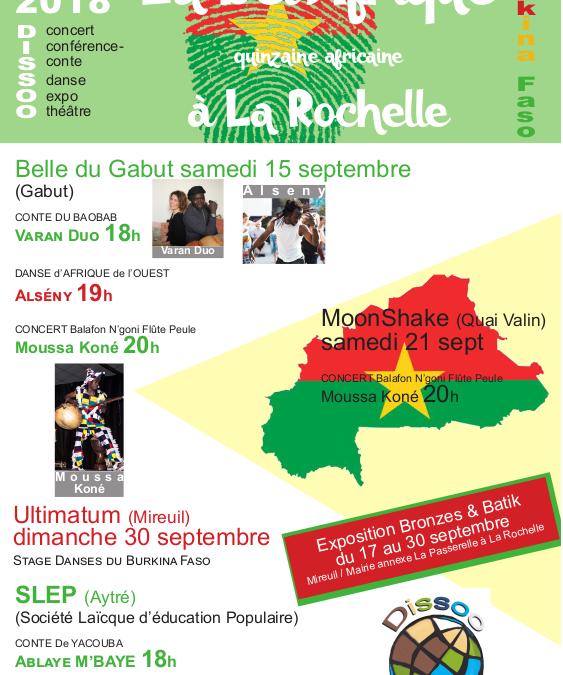 La Bel'Afrique – Quinzaine Africaine à La Rochelle