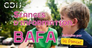 Séance d'information BAFA @ CDIJ
