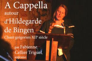 A Capella autour d'Hildegarde de Bingen @ Chapelle de l'Hôpital Saint Louis