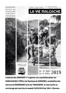 La Vie Malgache, Exposition photo @ Office du tourisme Surgères