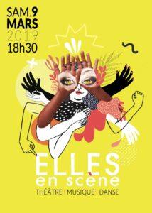 Soirée Elles en scène @ Espace Bernard Giraudeau
