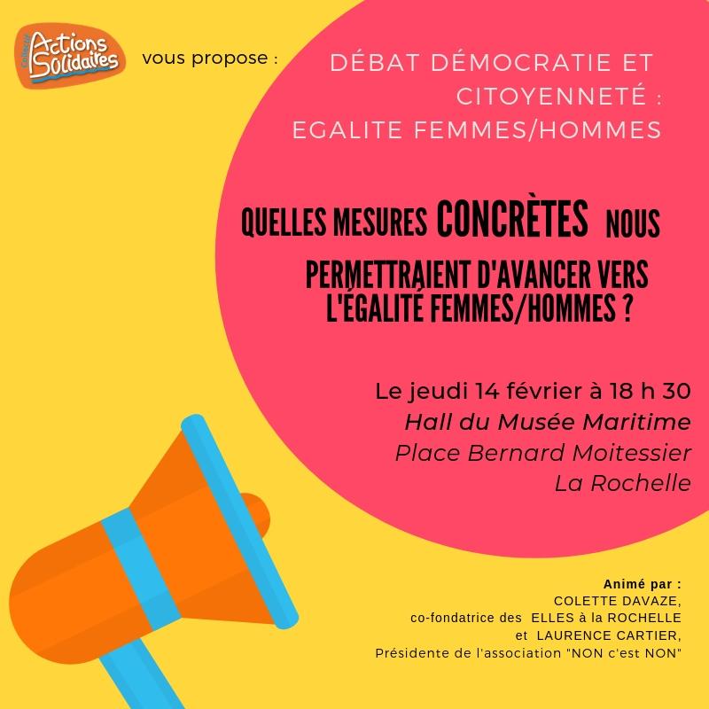 débat citoyen égalité femmes hommes