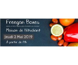 Freegan Boxes @ pin Maison de l'étudiant - Espace culture La Rochelle Université