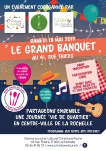 Le Grand Banquet ! @ pin Centre social et culturel Christiane Faure