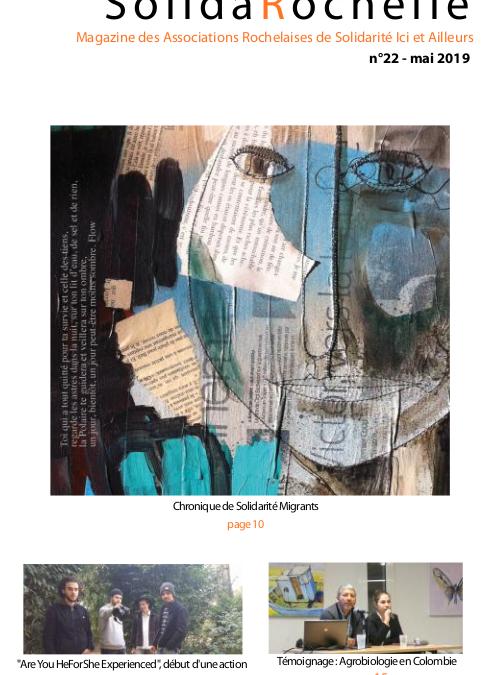 SolidaRochelle, l'édition de mai 2019 est publiée !