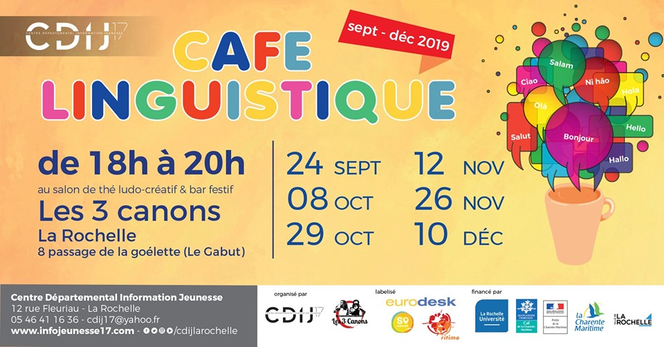CDIJ Café linguistique