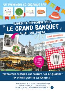 Le Grand Banquet @ Centre Social Christiane Faure