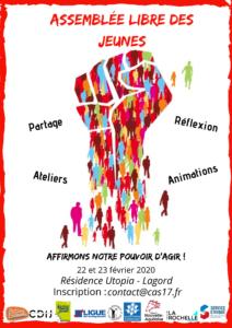 Assemblée Libre des Jeunes @ Résidence Utopia - Horizon Habitat Jeunes