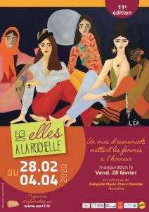 Inauguration des Elles à La Rochelle @ Salle des fêtes - Hôtel de Ville de La Rochelle