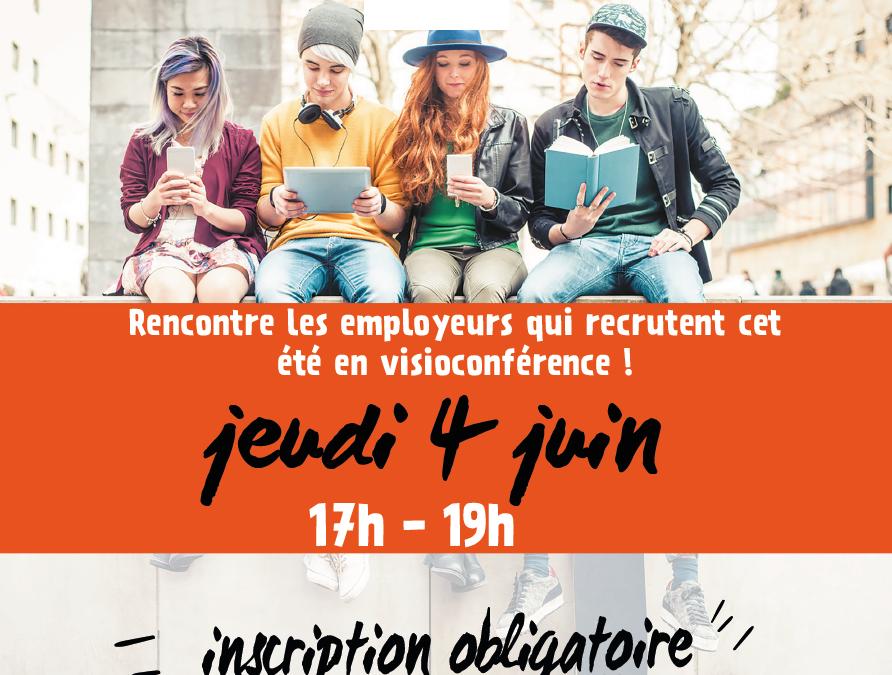 Forum Job d'été en ligne !