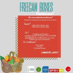 Freegan Boxes @ Maison de l'étudiant
