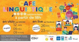 Cafés linguistiques @ Événement en ligne