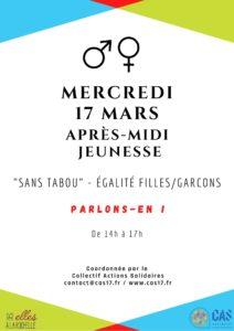 """Journée jeunesse """"Sans tabou"""" @ Centres sociaux de La Rochelle et Université"""