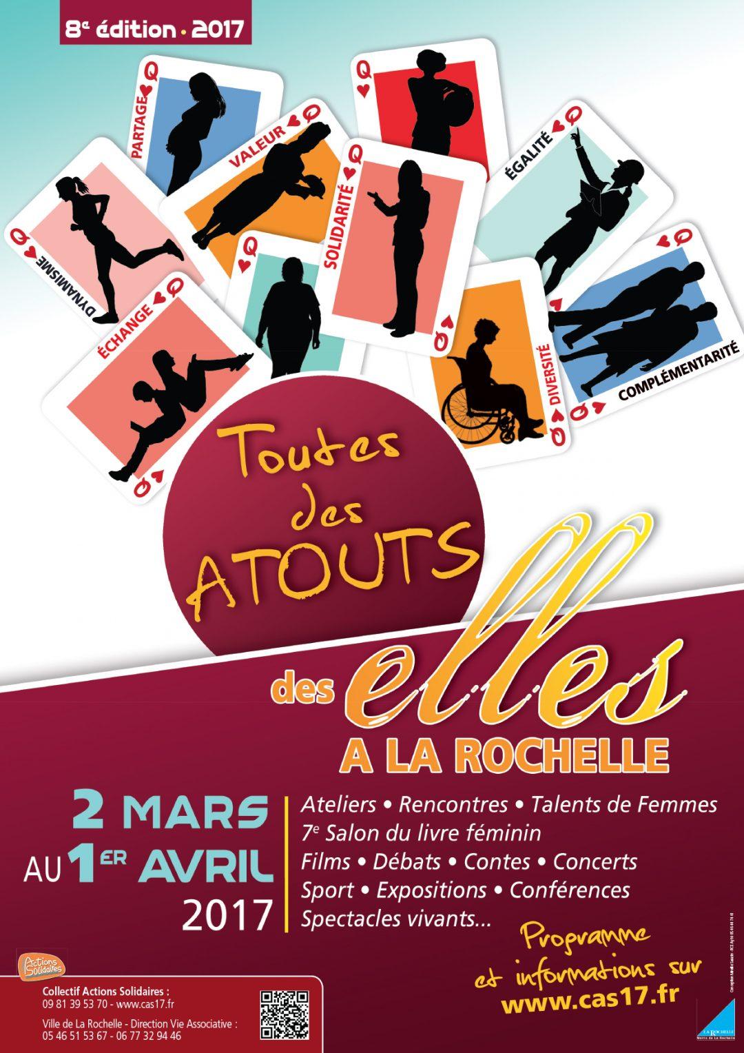 Affiches Des Elles à La Rochelle 2017