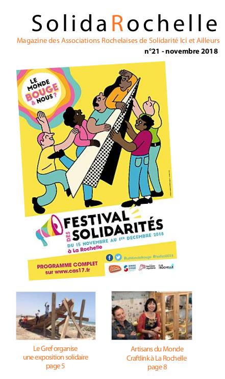 Couverture SolidaRochelle novembre 2018
