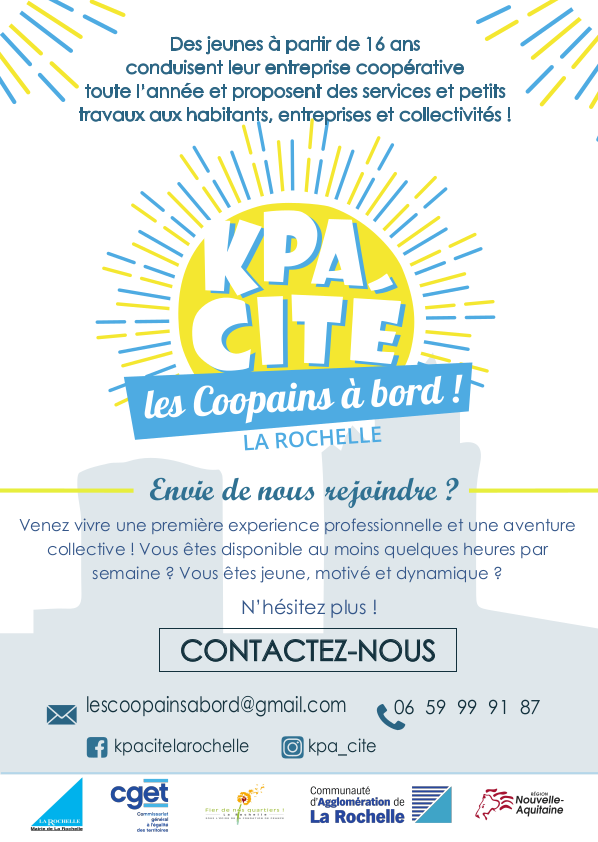 KPA-Cité recrute à la Rochelle