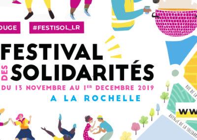 Festival des Solidarités du 13 novembre au 1er décembre !