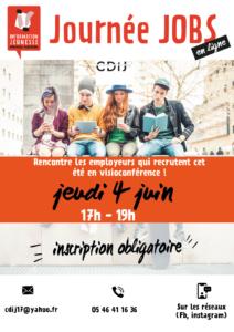 Forum Job d'été en ligne ! @ En ligne