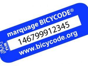 Lutte contre le vol de vélos, avec marquage Bicycode @ Local Vive le Vélo