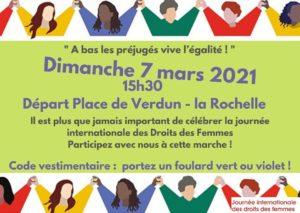 Marche Journée internationale des droits des femmes @ Place de Verdun | Montréal | Québec | Canada