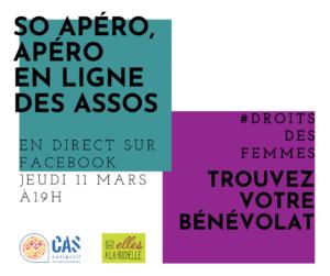 So'Apéro en Live @ Facebook Des Elles à La Rochelle
