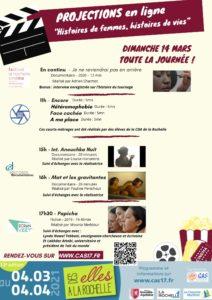 """Journée de projections en ligne """"Histoires de femmes, histoires de vies"""" @ En ligne"""